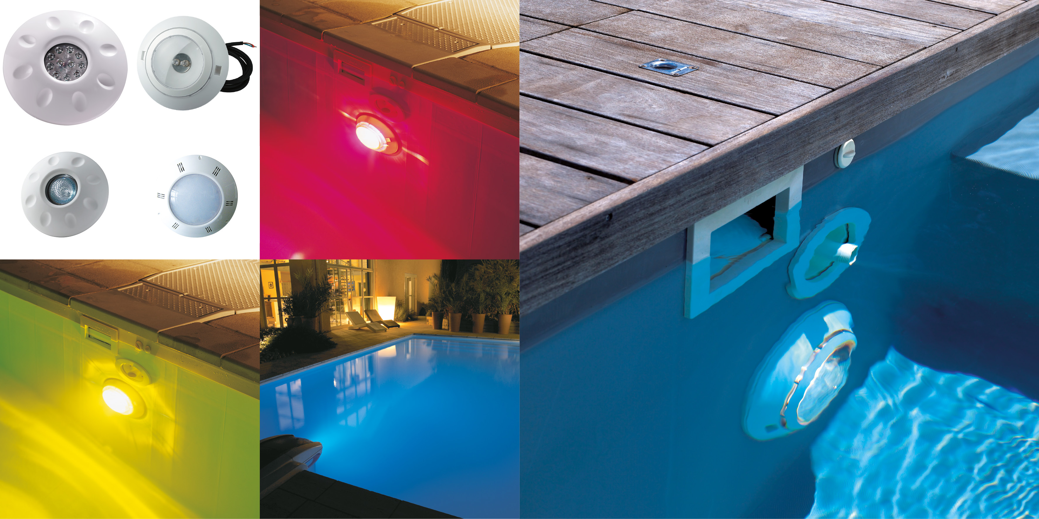 Projecteur piscine on vous claire la boutique desjoyaux for Boutique piscine