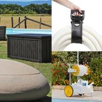 Rangement piscine : de nombreuses solutions !