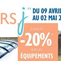 Les jours J Desjoyaux : Jusqu'à -20%* sur les équipements piscine !